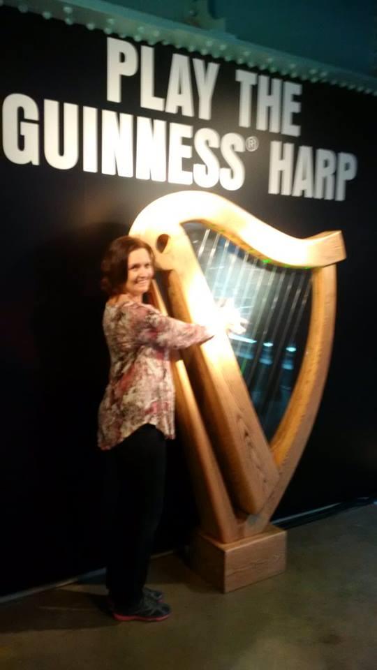 Guiness harp